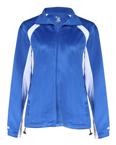 Nonnewaug Wrestling Ladies Track Jacket