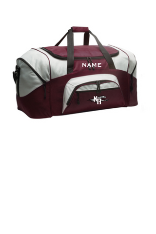 Naugy Hounds Baseball Travel Duffel Bag