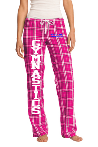 Kinetic Kids Ladies Junior Fit Pajama Pants