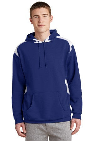 Seymour Tradition Royal Unisex Adult Colorblock Hooded Sweatshirt 2