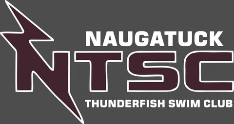 Naugatuck Thunderfish Grey Ladies wicking t-shirt