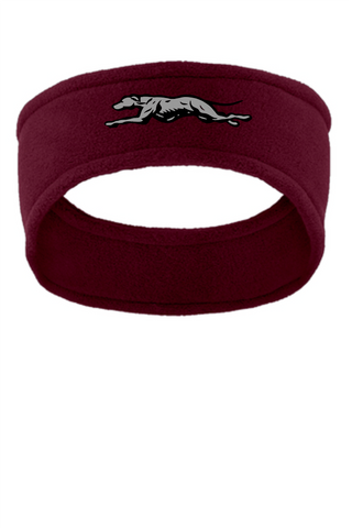 Naugatuck Softball Maroon Fleece Headband