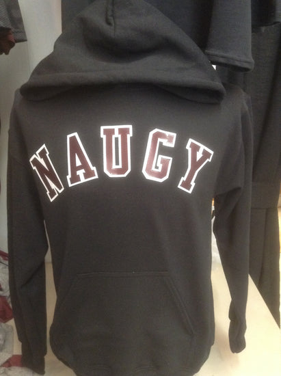Naugatuck Hooded Sweatshirt with Twill Letters