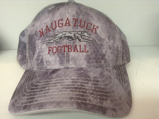 Naugatuck Football Grey Camo Hat