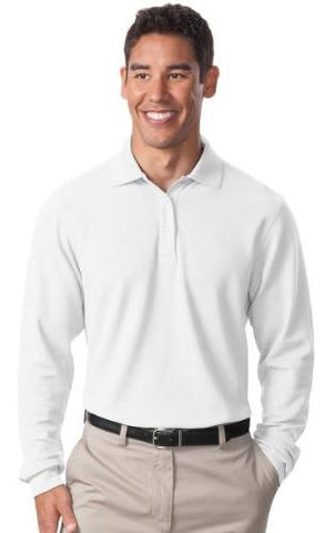 CBVO Unisex Cotton Long-sleeve Polo