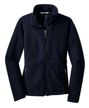 Jettie S. Tisdale Full Zip Ladies Fleece