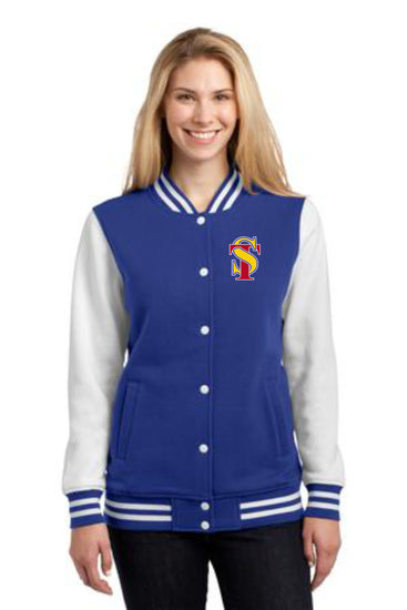 Seymour Tradition Ladies Fleece Letterman's Jacket