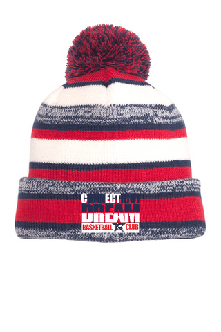 CT DREAM New Era Knit Pom Pom Hat