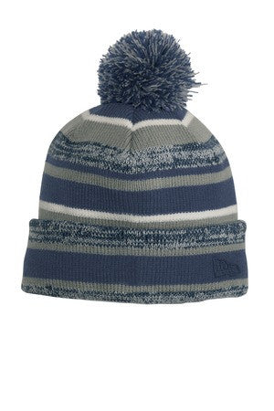 Shoreline Sting New Era Pom Pom Striped Hat