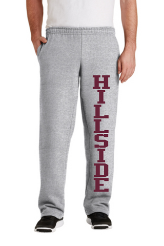 Hillside Youth and Adult Open Bottom Sweatpant