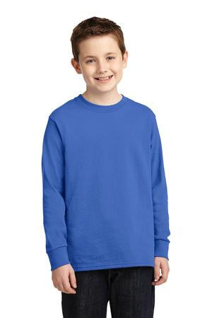 Seymour Tradition Royal Longsleeve Cotton Youth T-shirt 2