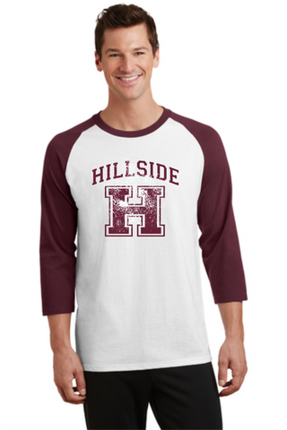 Hillside Youth & Adult  Maroon/white Jersey