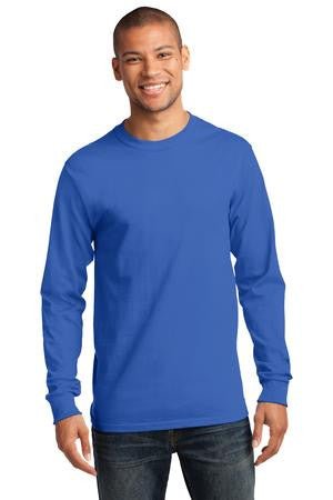 Seymour Tradition Royal Longsleeve Cotton Adult T-shirt