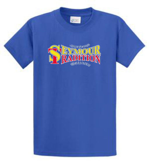Seymour Tradition Royal Cotton Adult T-shirt