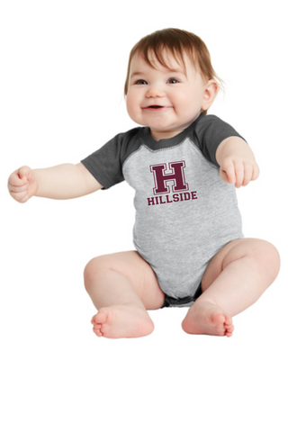 Hillside Infant Baseball Onesie