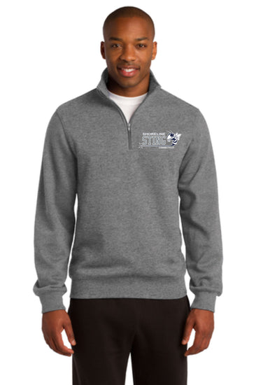 Shoreline Sting 1/4 Zip Sport Tek Sweatshirt