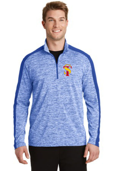 Seymour Tradition Electric Heather 1/4 Zip Pullover