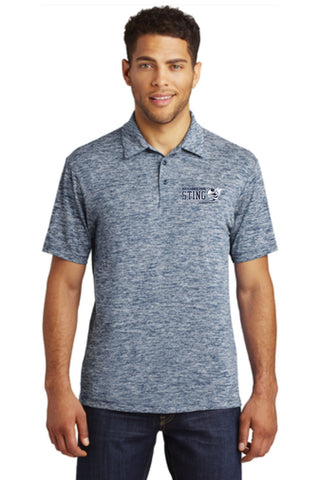 Shoreline Sting Sport-Tek® PosiCharge® Electric Heather Polo