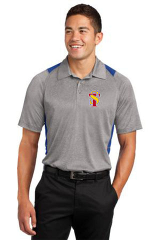 Seymour Tradition Heather Colorblock Polo