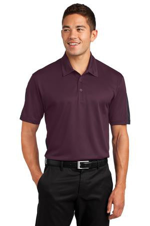 Active Textured Colorblock Polo Shirt