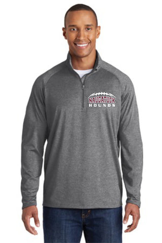 Naugatuck Hounds 1/2 Zip Men's Performance Longsleeve Shirt