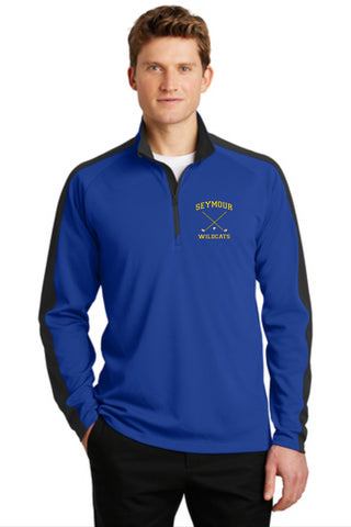 Seymour Golf 1/4 zip Colorblock Pullover