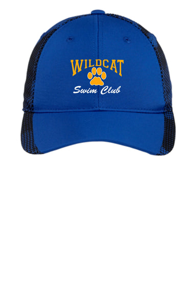 Wildcat Swim Club CamoHex Adjustable Hat