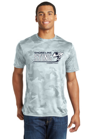 Shoreline Sting Camohex Performance T-shirt