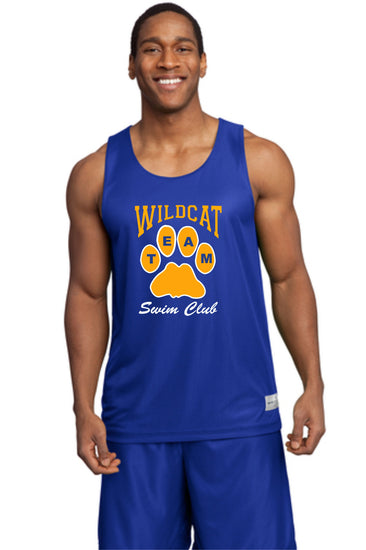 Wildcat Swim Club Mesh Tank Tops