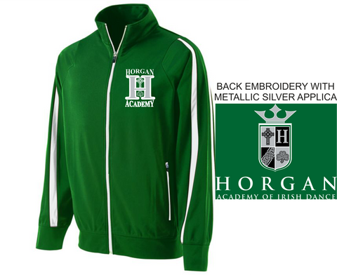 Horgan Academy unisex/Youth Full Zip Warm Up Jacket