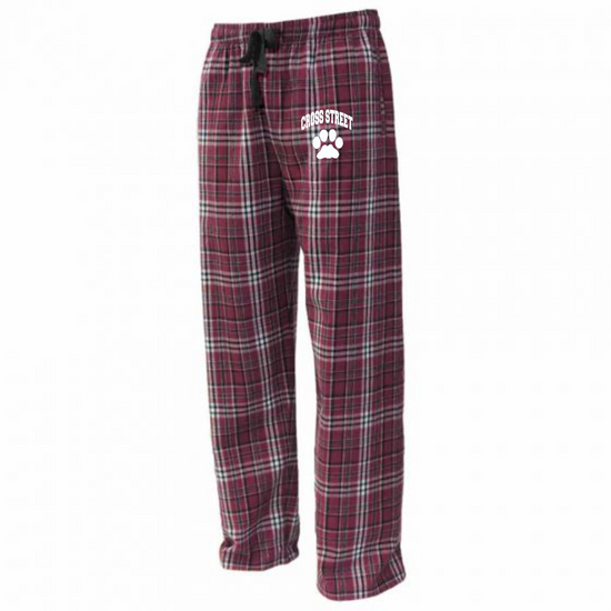 Cross Street PJ Pants Youth and Adult