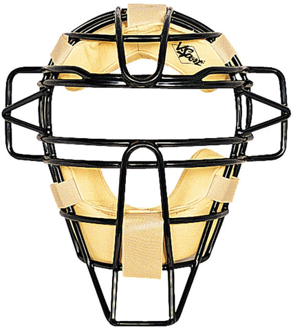 Umpire Ultra Light Weight-Leather Covered Mask