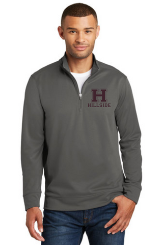 Hillside Adult 1/4 Zip Performance Pullover