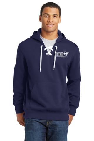 Shoreline Sting Embroidered Hockey Hoodie