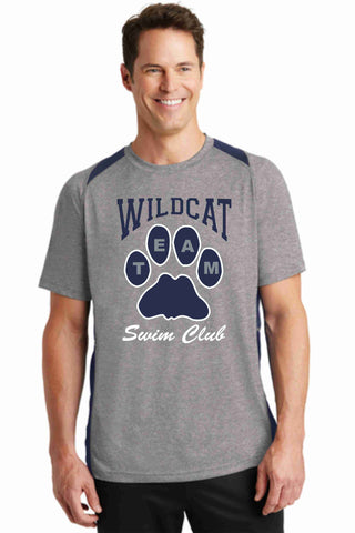 Wildcat Swim Club Volunteer Colorblock shirt