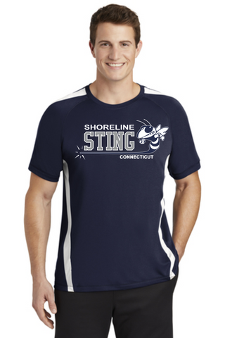 Shoreline Sting Sport-Tek® Colorblock Tee