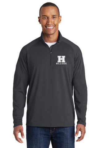 Hillside Men's 1/2 Zip Sport-wick Stretch Pullover