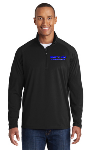 Kinetic Kids Men's Sport-Wick 1/2 Zip Stretch pullover