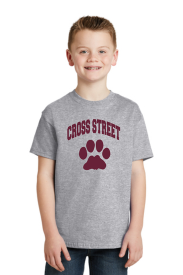Cross Street T-shirt for Youth and Adult
