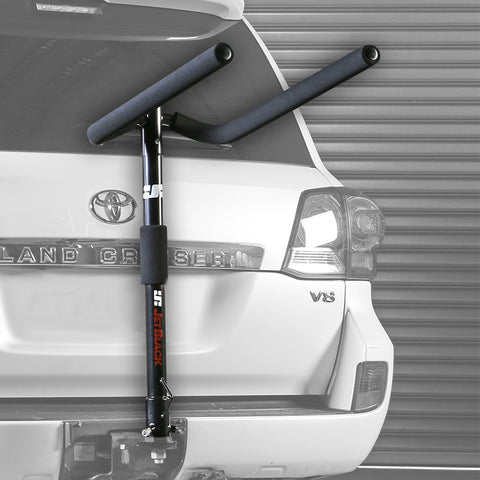 Jet Black 3-Bike JetRack Towball Mounted Bike Carrier Includes Bungee Pack