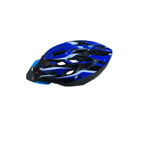 CycleOn Helment Blue/Black/White 52-58cm Infusion mould with adjustable dail.