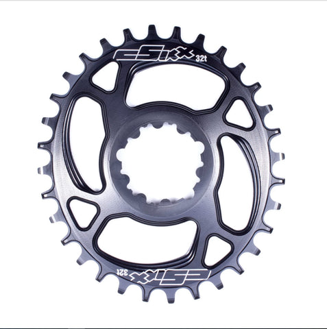 CSIXX TT Chainring - OVAL - Direct-mount - SRAM 6mm Offset