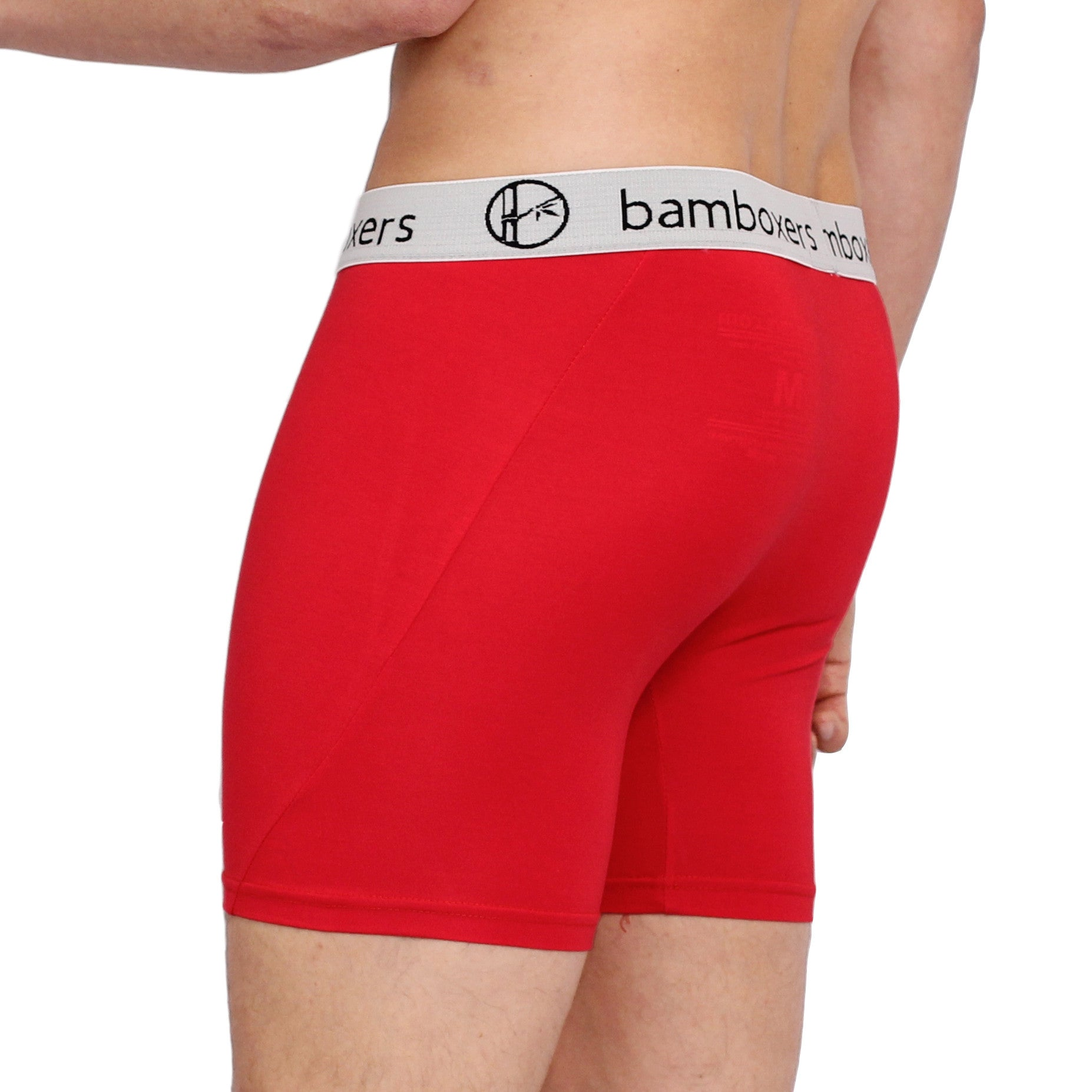 Bamboxers - Big Red - bamboo boxer briefs