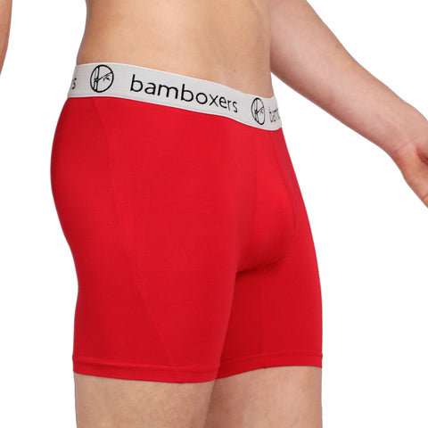 Bamboxers - Heather Metal - bamboo boxer briefs