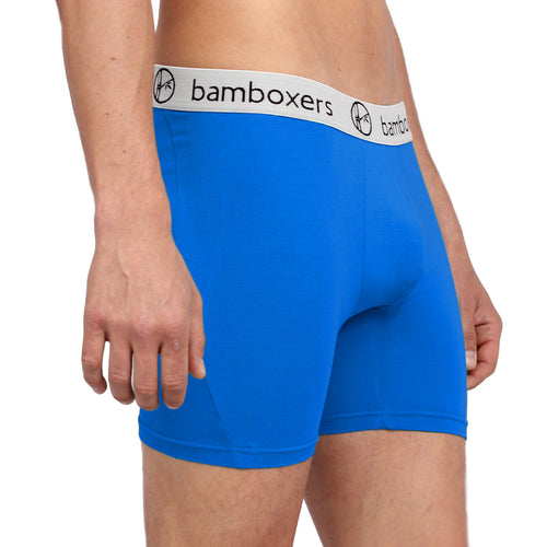 Bamboxers - Obama Blue - bamboo boxer briefs