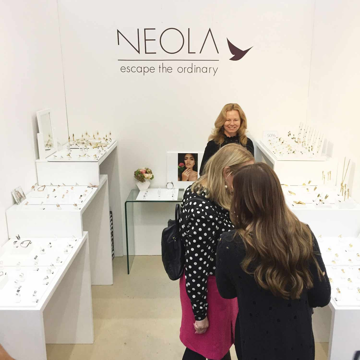 Spirit of Christmas Show 2016 in Olympia - Neola British Fine Jewellery