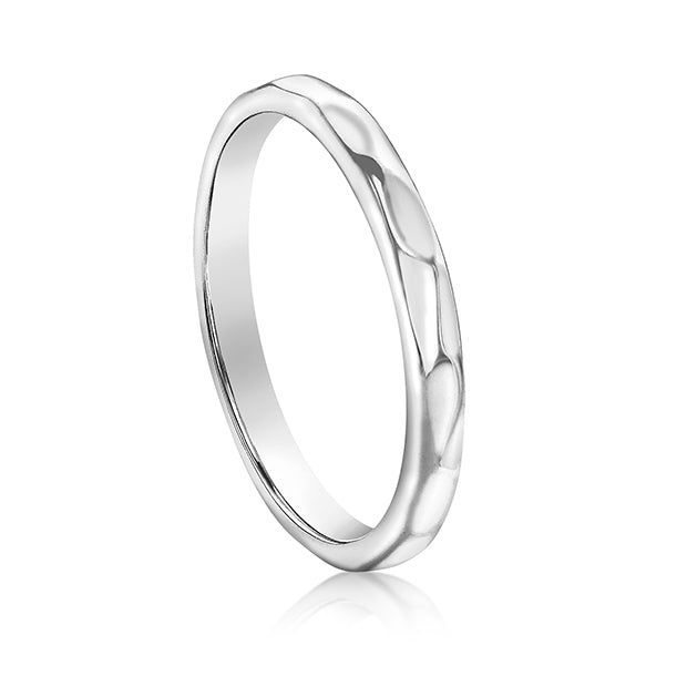 Silver Eternity Ring