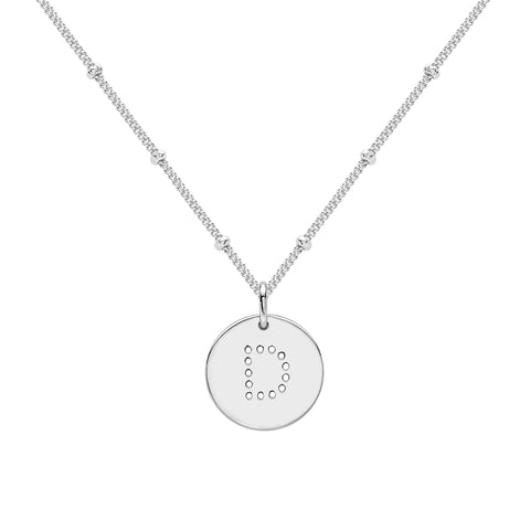 ALPHABET M NECKLACE