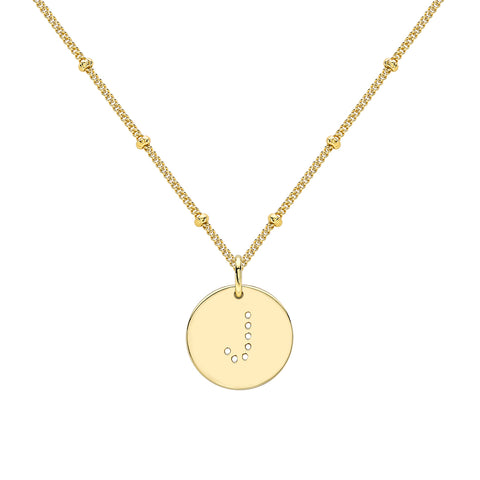 SIENNA ENGRAVING NECKLACE