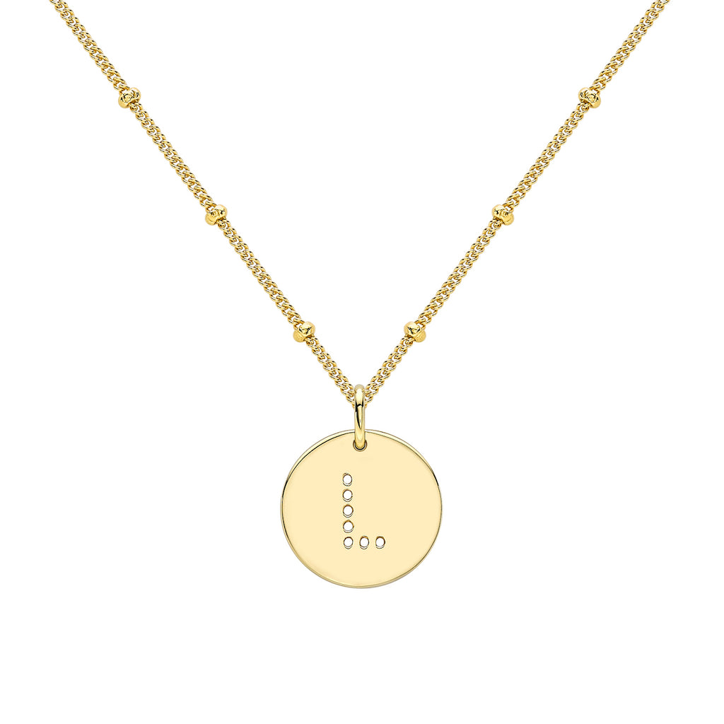 ALPHABET L NECKLACE